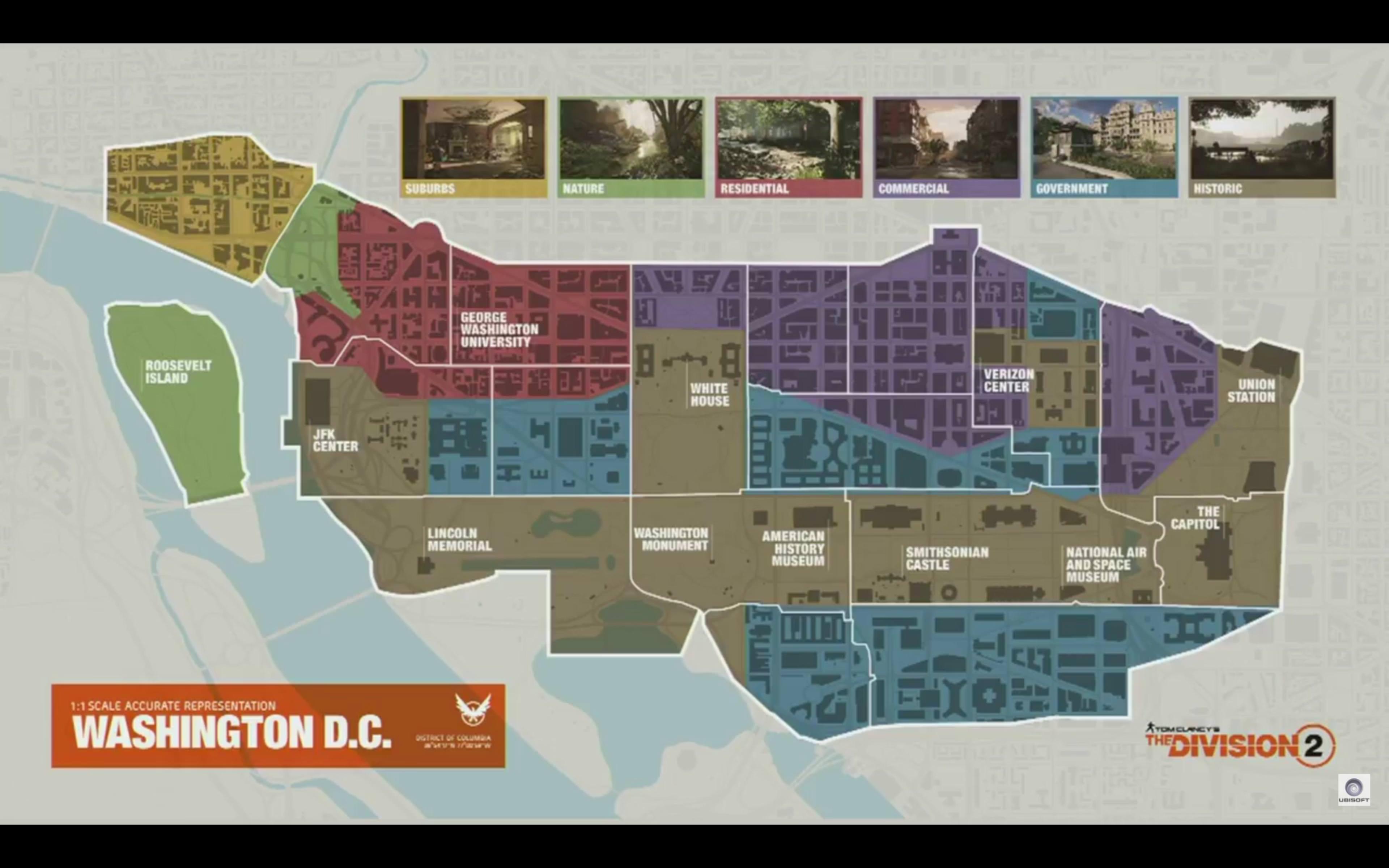 Risultati immagini per mappa the division 2